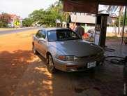 Поездка к дальним храмам Ангкора на машине