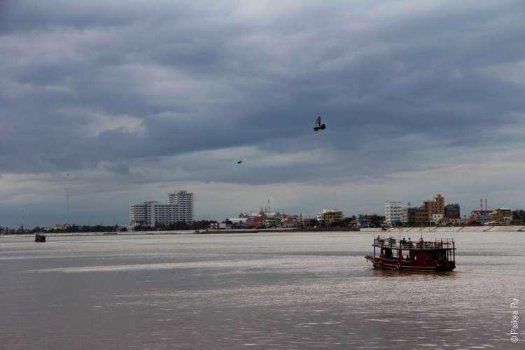 Столица Камбоджи - город Пномпень