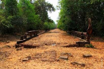 Дорога к Бантей Самре Камбоджа Bantey Samre Cambodia 5