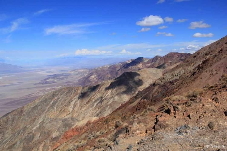 горы в долине смерти