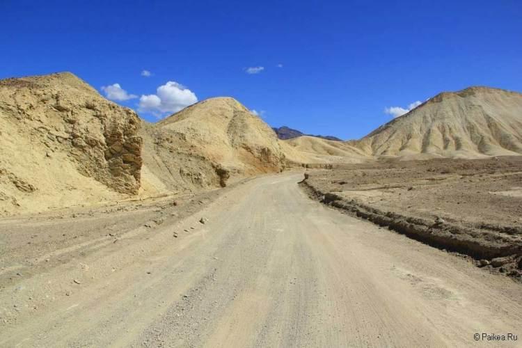Долина Смерти каньон
