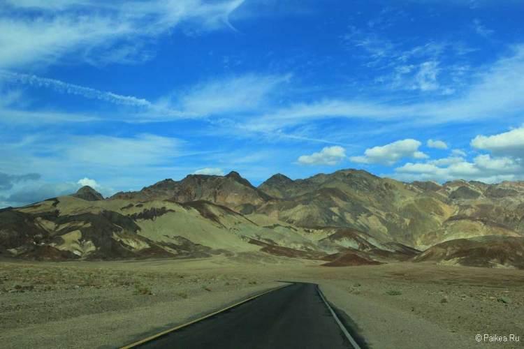 Долина Смерти Палитра