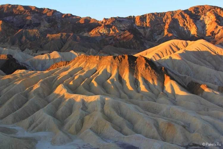 Долина Смерти Забриски