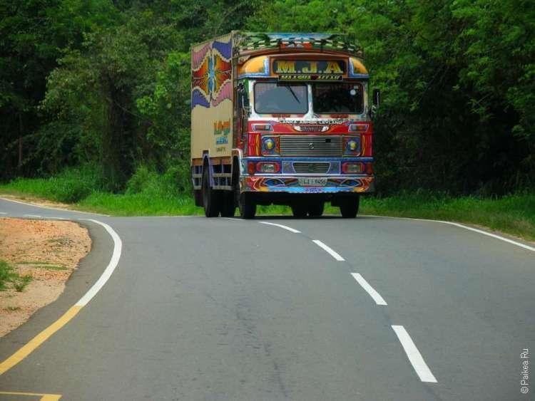 Маршрут путешествия по Шри-Ланке