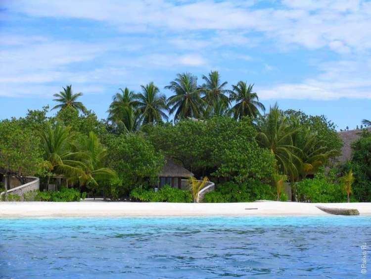 Пляжное бунгало на Мальдивах