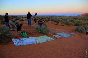 Индейцы навахо в Пейдже