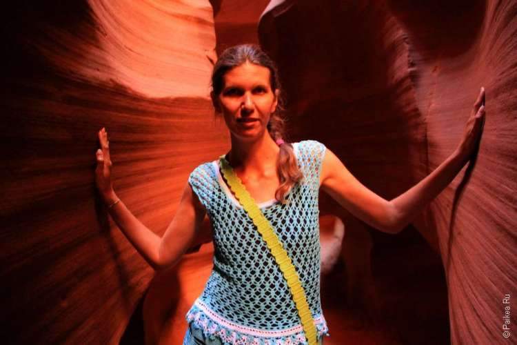 Внутри Каньона Антилопы, Аризона, США