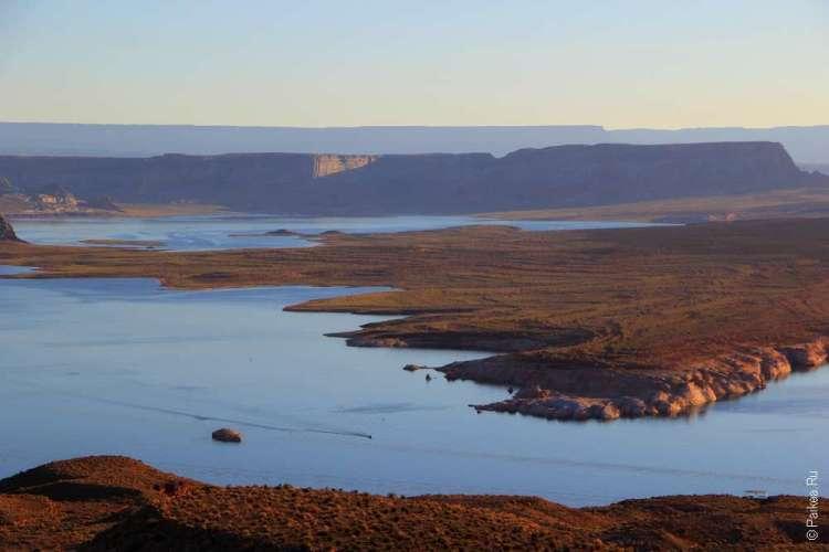 Вид на озеро Пауэлл