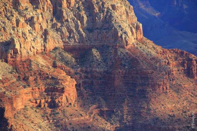 Гранд-Каньон, геологические слои