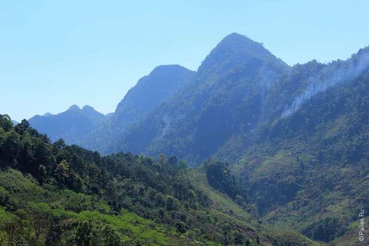 Северный Таиланда маршрут