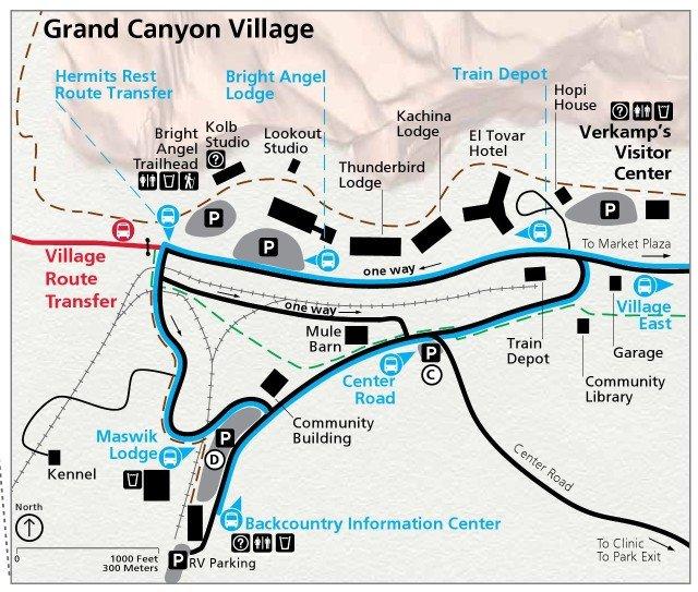 Гранд-каньон Виллидж