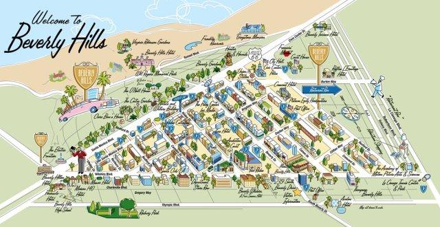 Район Беверли-Хиллз в Лос-Анджелесе
