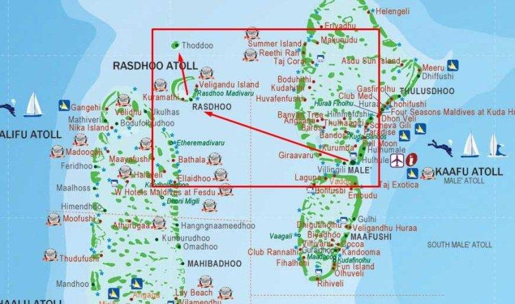 Тодду, Мальдивы