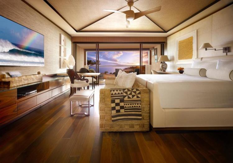 Гавайи - отель 5 звезд Four Seasons Resort Lanai