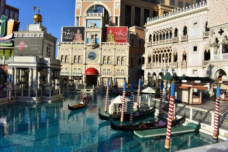 лас-вегас отель венеция