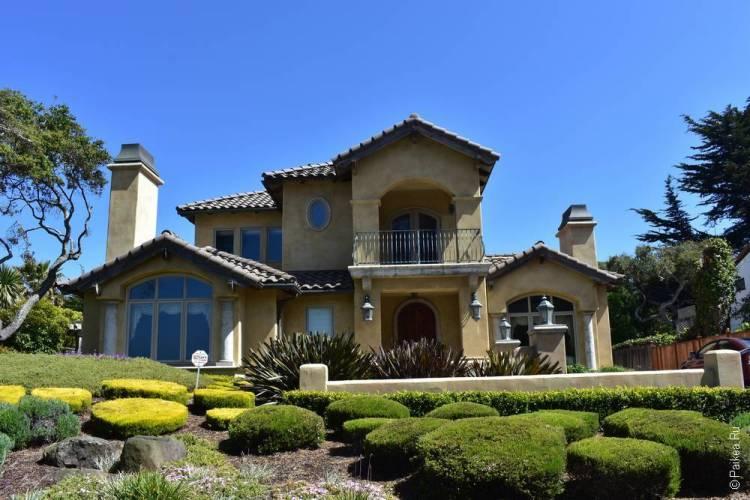 дом в монтерее, калифорния, сша