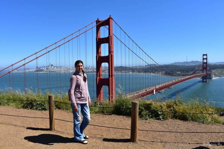 Мост Золотые Ворота в Сан-Франциско 04