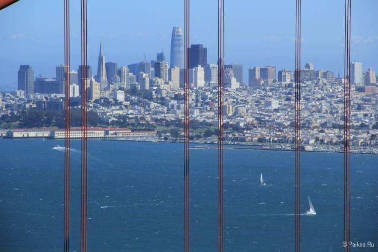 Мост Золотые Ворота в Сан-Франциско 25