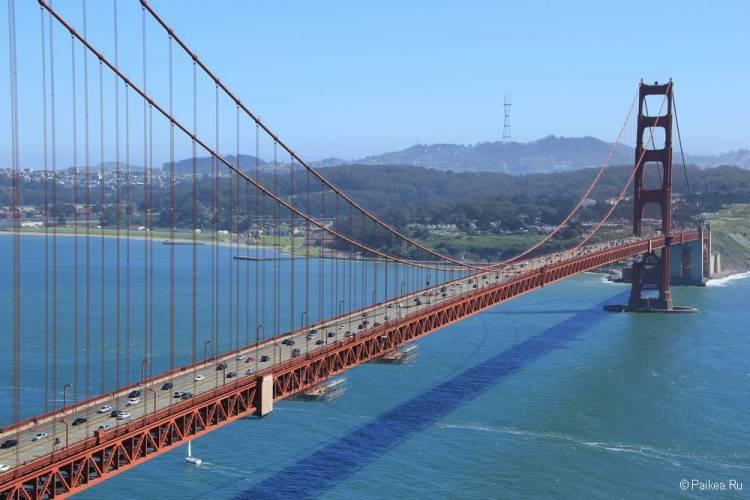 Мост Золотые Ворота Сан-Франциско США