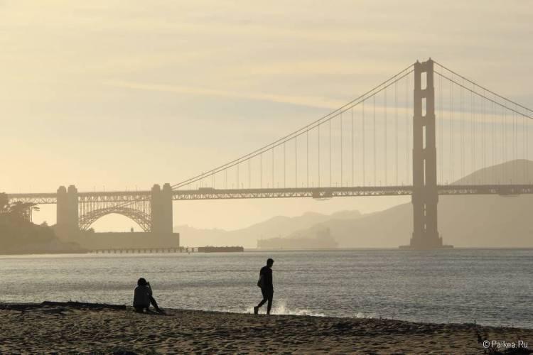 Мост Золотые Ворота в Сан-Франциско 41