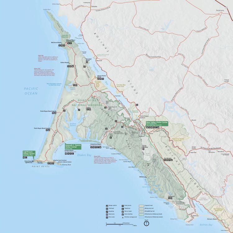 карта пойнт рейес