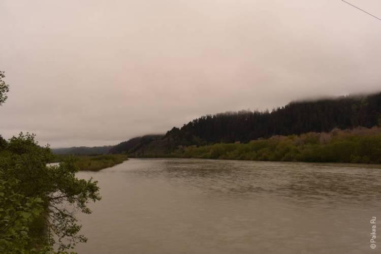 река кламат