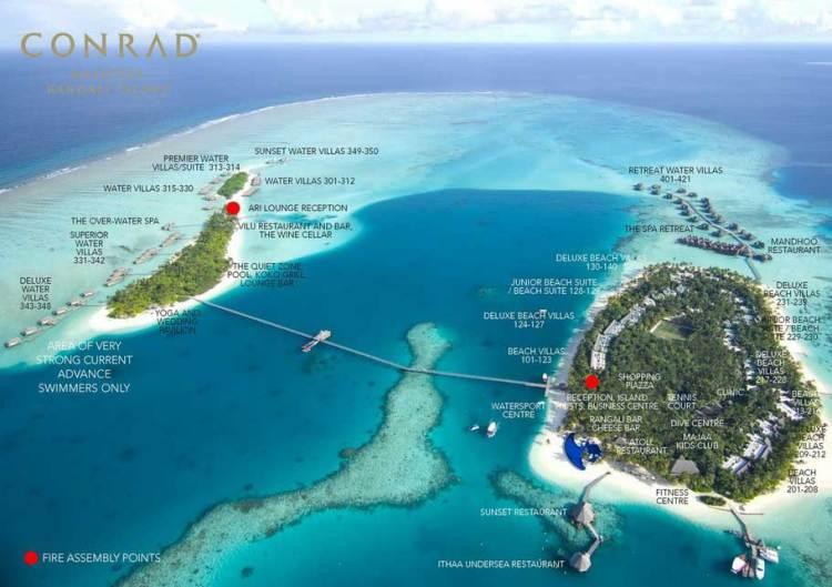 Отель Конрад Мальдивы