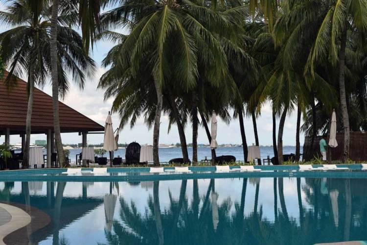 Мальдивы отели Курумба