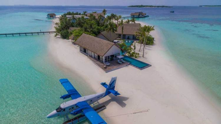 Остров Воава на Мальдивах