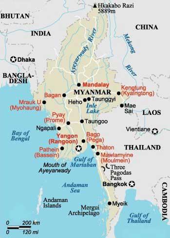 мьянма пляжи