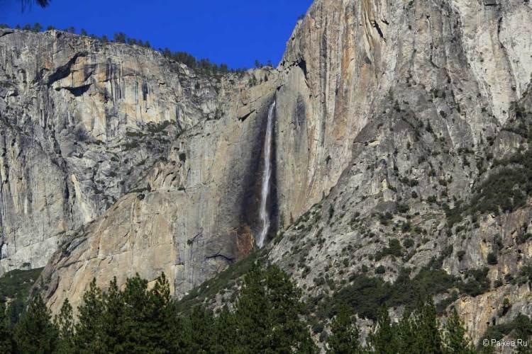 йосемити водопад