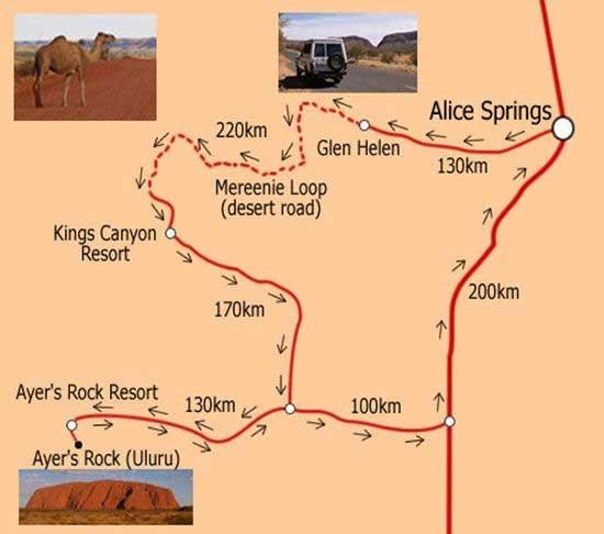 красивые дороги в австралии