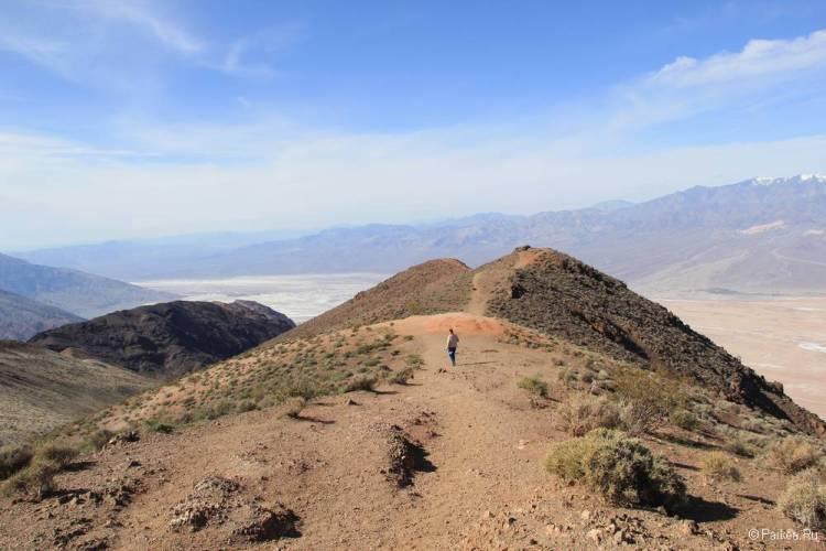 горы в долине смерти калифорния сша
