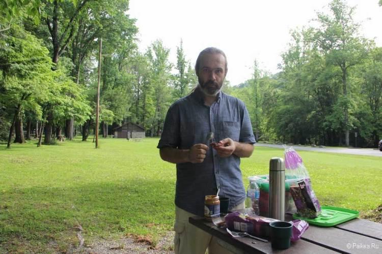грейт смоки маунтинс пикник