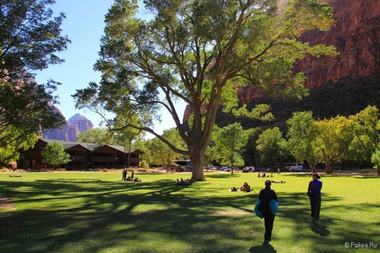 Парк Зайон в США