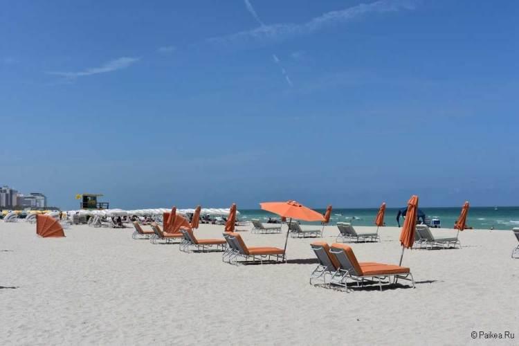 Пляжи Майами фото