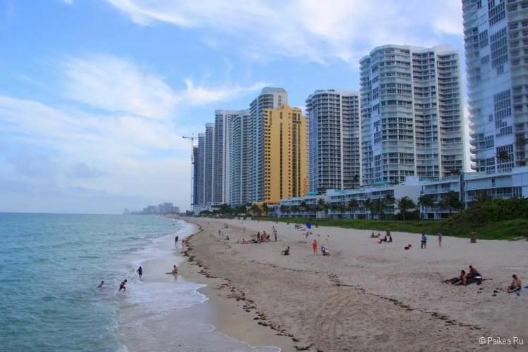 Пляжи Майами отели