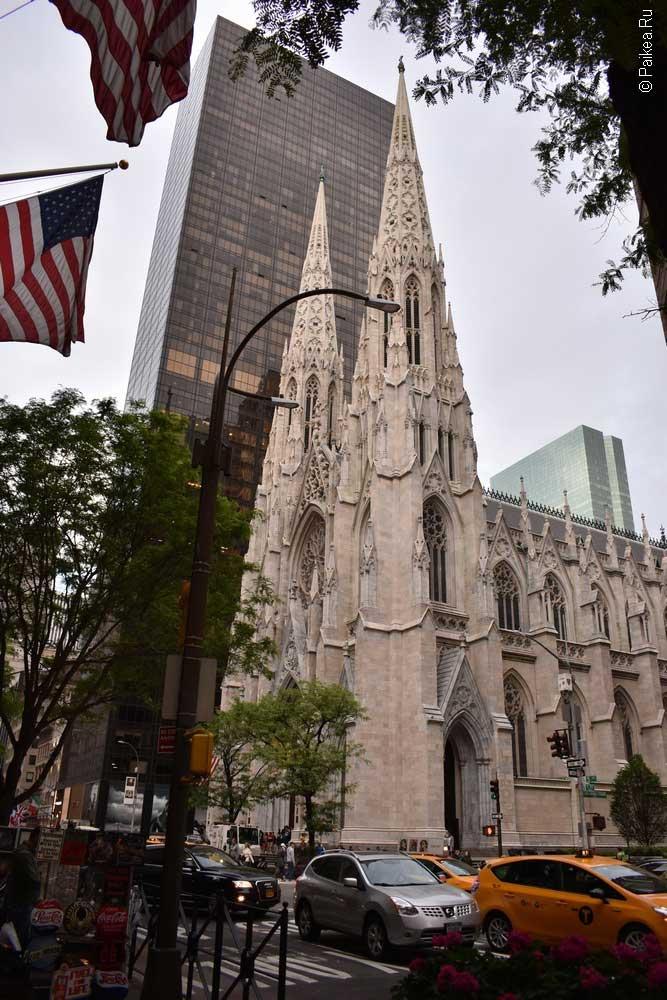 Достопримечательности Нью-Йорка что посмотреть Собор святого Патрика
