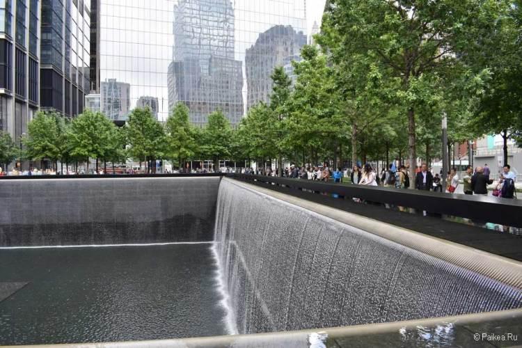 Достопримечательности Нью-Йорка что посмотреть Мемориал 9/11