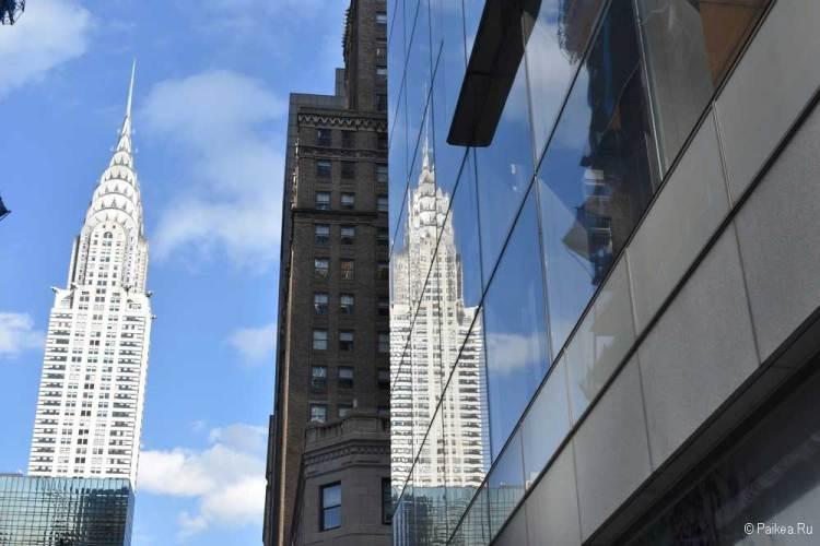 Достопримечательности Нью-Йорка что посмотреть Крайслер Билдинг