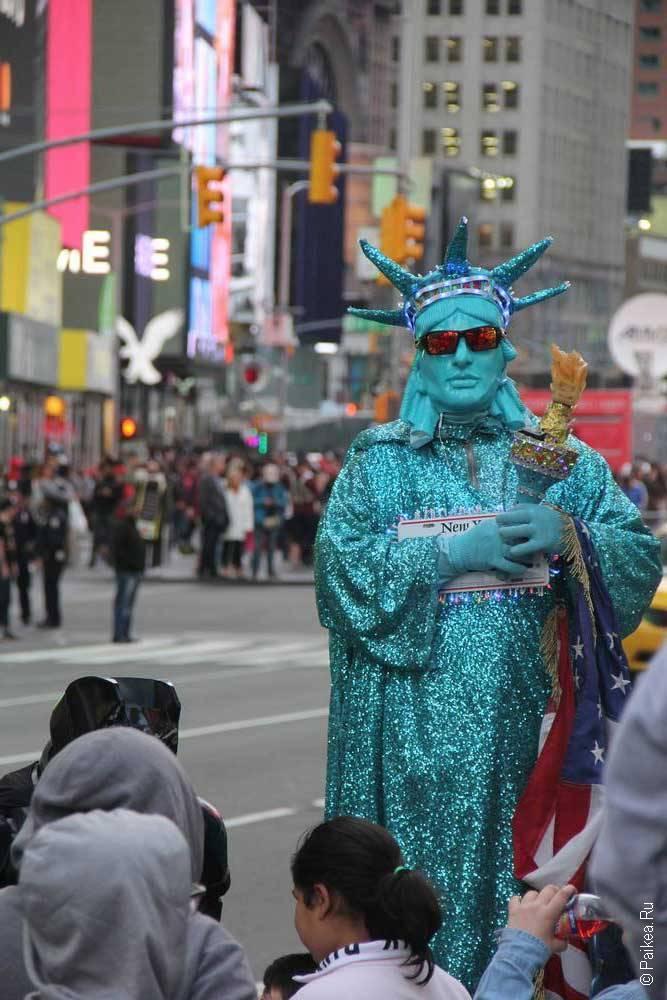 Бродвей в Нью-Йорке
