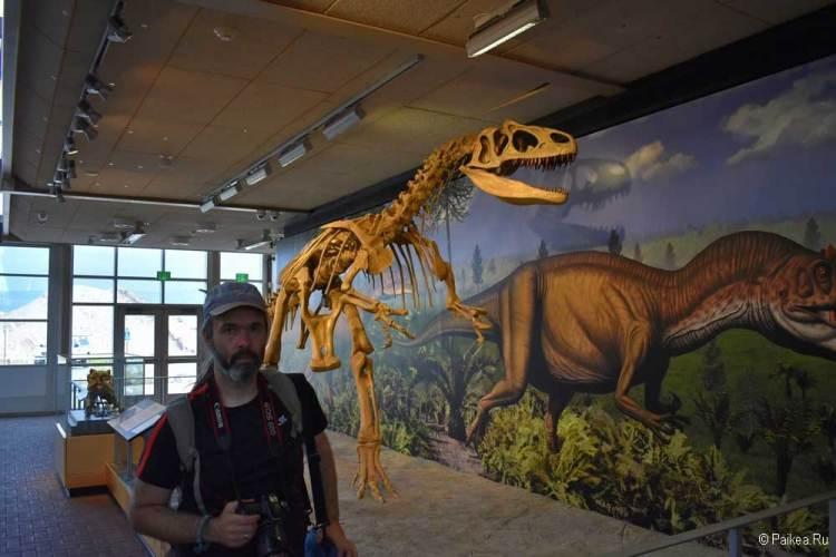 динозавр сша национальный монумент