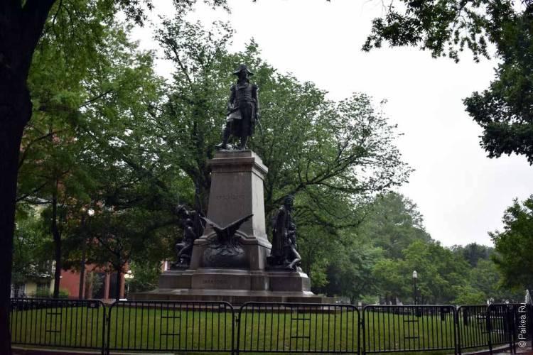 Памятник в Вашингтоне