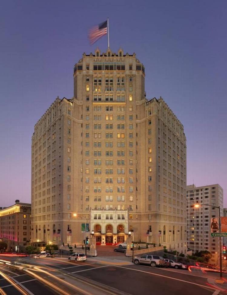 Сан-Франциско Отель Интерконтиненталь
