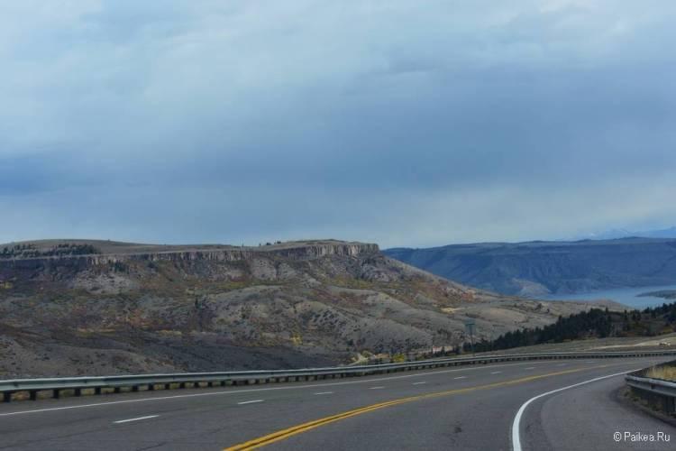 Черный каньон Ганнисона, Колорадо, США 15