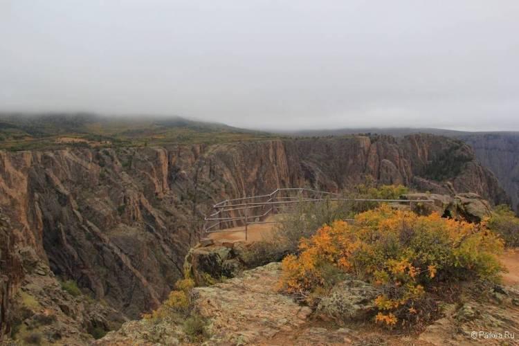 Черный каньон Ганнисона, Колорадо, США 23