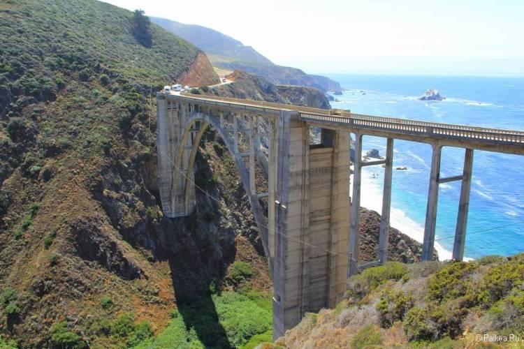 поездка в калифорнию что посмотреть мост биксби