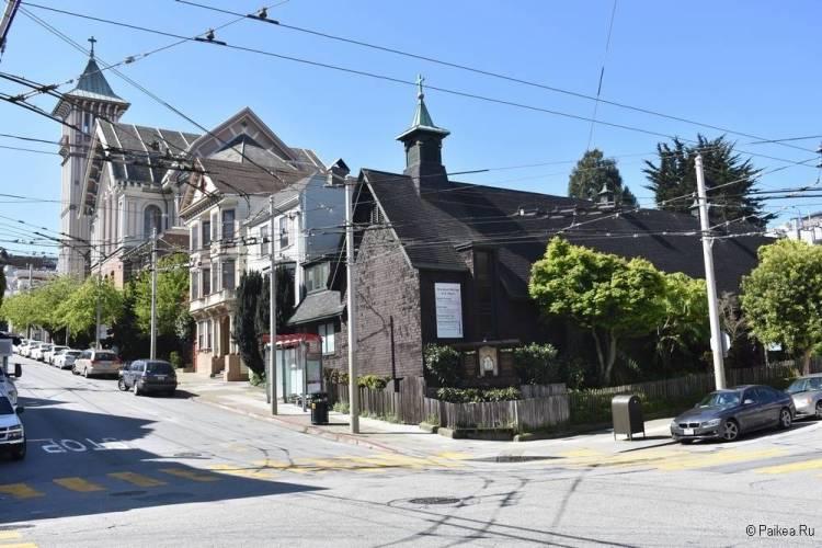 Викторианские дома в Сан-Франциско
