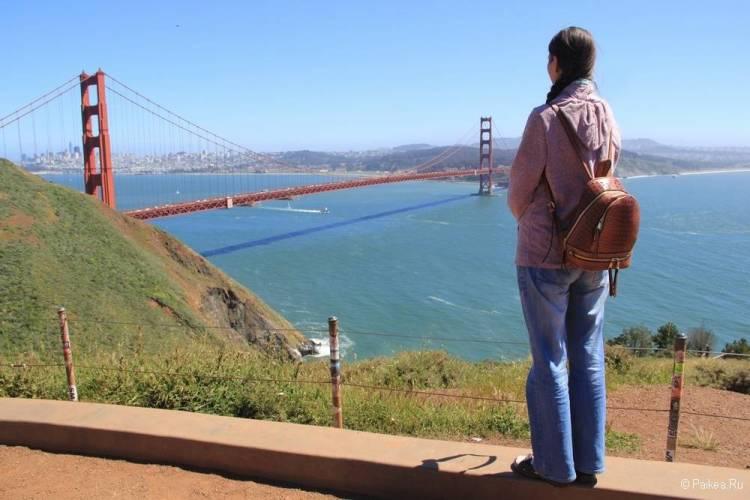 Смотровая площадка Сан-Франциско Marin Headlands