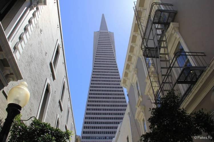 Достопримечательности Сан-Франциско Пирамида Трансамерика